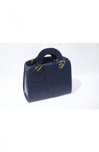 Navy Blue Shoulder Bags 10119-02