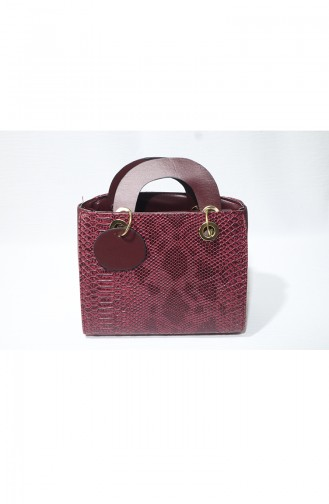 Claret red Shoulder Bag 10119-05
