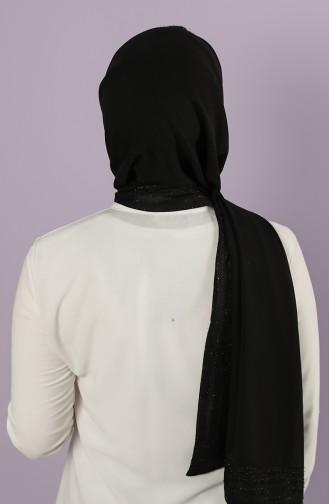 شال أسود 13084-19