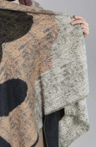 Khaki Sjaal 42700-02
