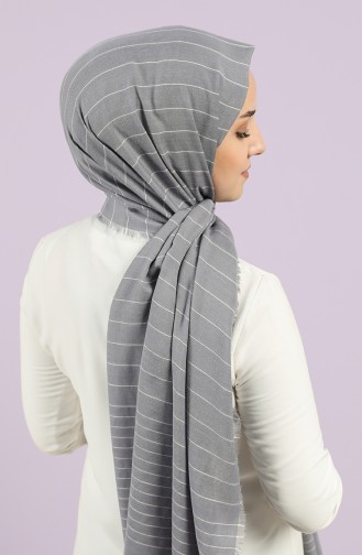 Dark gray Sjaal 1415-07