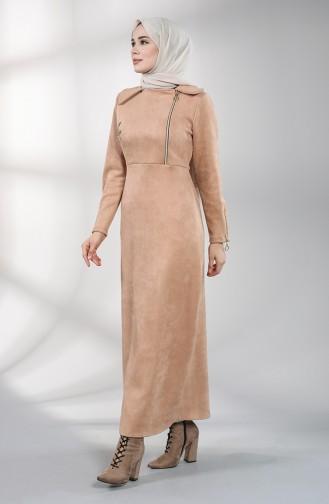 Robe Hijab Beige 1787-01