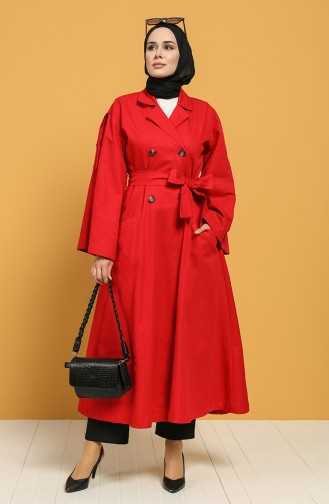 Trench Coat Rouge 9034-05
