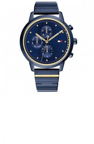 Navy Blue Wrist Watch 1781893