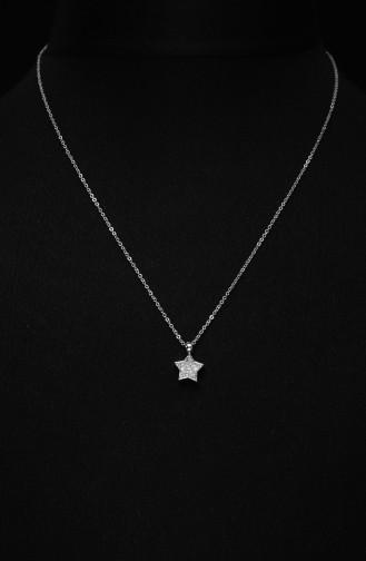 Yıldız Figürlü Bayan Kolye ADAS300-01 Gümüş