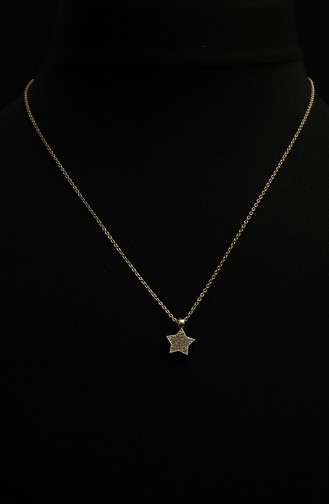 Collier Couleur Or 300-03