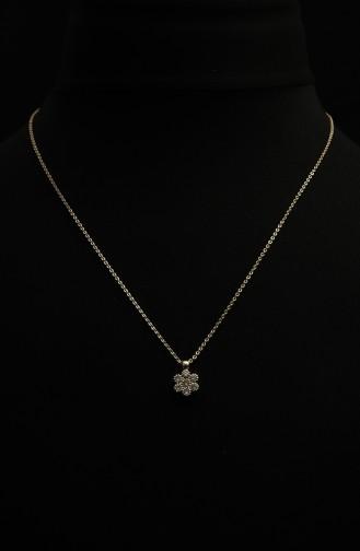Gold Colour Necklace 301-03