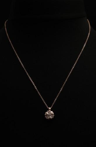 Collier Peau Rose 302-02