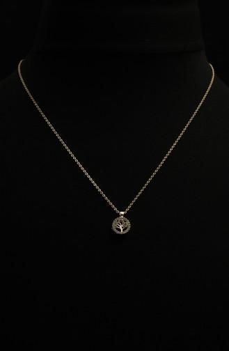 Gold Colour Necklace 305-03