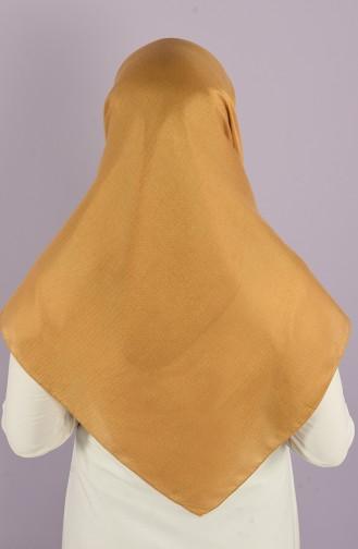 Platin Cotton Eşarp 15215-10 Altın Rengi