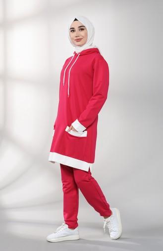 Fuchsia Sweatsuit 20046-18