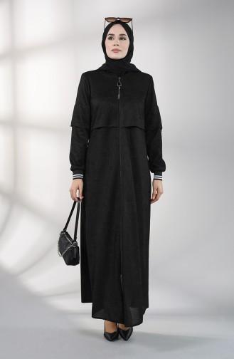 Abayas Noir 0131-04