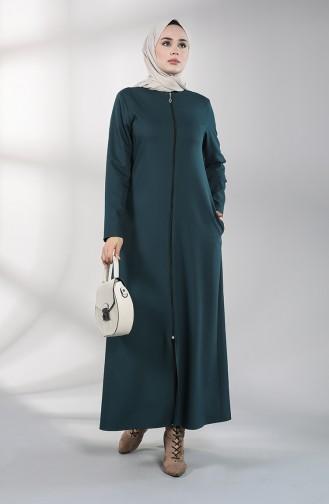 Smaragdgrün Abayas 2213-04