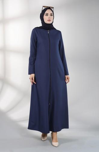 Navy Blue Abaya 2213-06