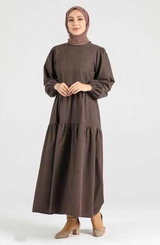 Brown İslamitische Jurk 1434-05