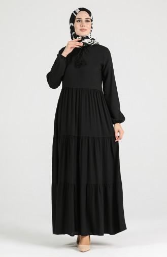 Robe Hijab Noir 4556-07