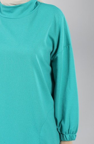 Sports Tunic with Pockets 30001-06 Green 30001-06