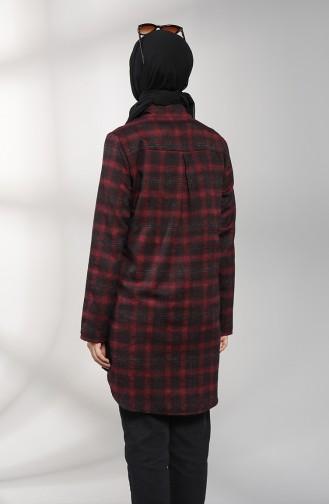 Lumberjack Shirt Tunic 3225-01 Claret Red 3225-01