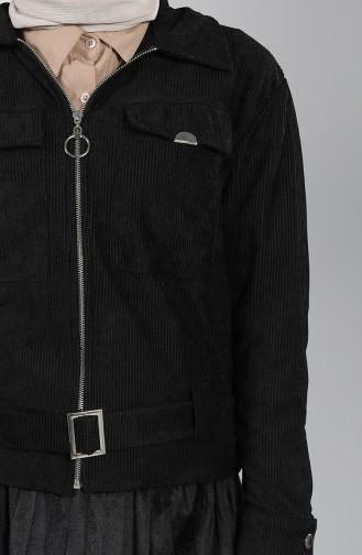 Schwarz Jacke 6208-06