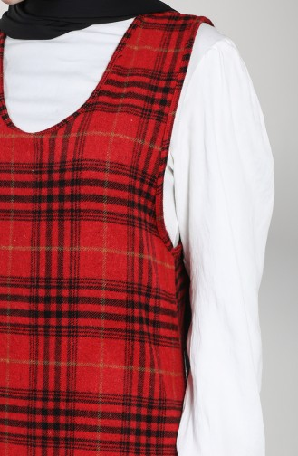 robe sans manche Rouge 21K8142-02