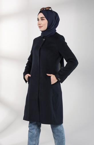 Pocket Cachet Coat 1777-01 Navy Blue 1777-01