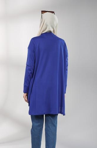 Saks-Blau Pulli 8137-02