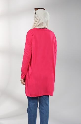 Fuchsia Sweatshirt 8137-07