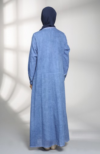 Blau Hijap Kleider 9898-05
