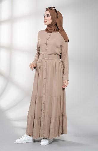 Uzun Kollu Tesettur Elbise Modelleri Ve Fiyatlari Tesettur Giyim Sefamerve