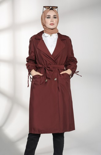 Weinrot Trench Coats Models 1484-01
