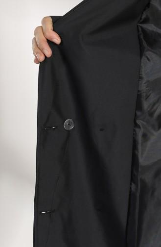 Trench Coat Noir 1484-04