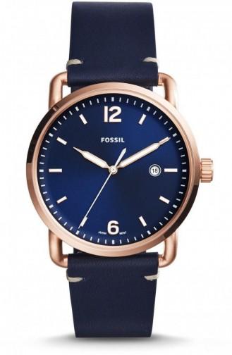 Navy Blue Horloge 5274