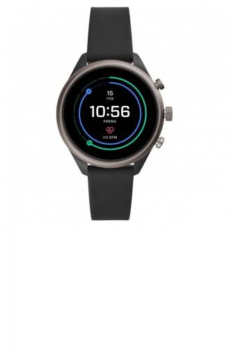 Schwarz Uhren 6024
