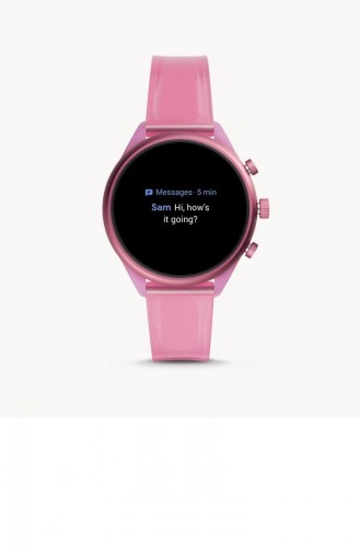 Pink Wrist Watch 6058