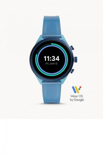 Blue Wrist Watch 6059