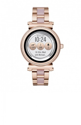 Rosa Haut Uhren 5041 - K