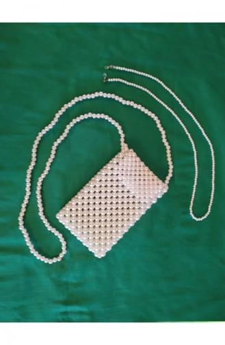 حقيبة كتف أبيض 869191210175