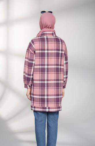 Purple Overhemdblouse 1487-05