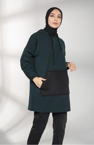 قميص رياضي أخضر حشيشي 5341-01