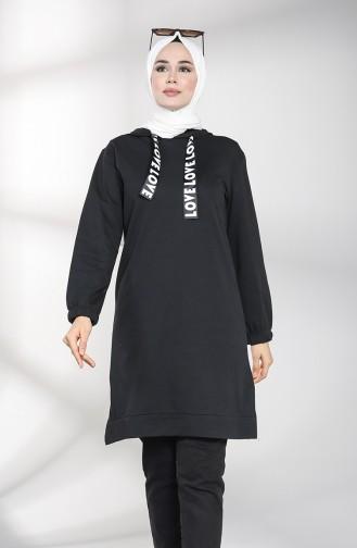 Sweatshirt Noir 30009-02