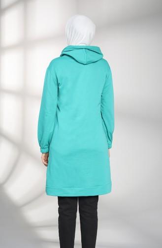 Sweatshirt Vert 30009-03
