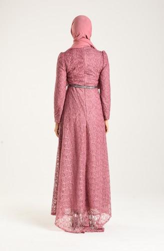 Habillé Hijab Rose Pâle 3513-03