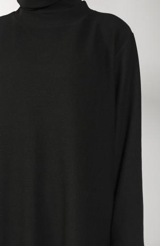 Jakarlı Eşofman Takım 20074-01 Siyah