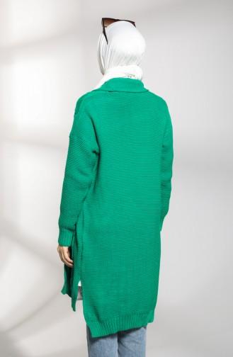 Gilets Vert emeraude 0618-03
