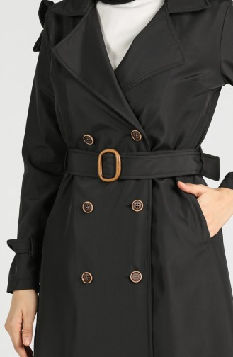 Black Trench Coats Models 5069-03