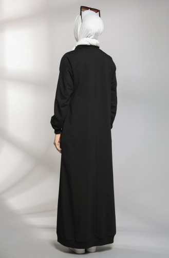 Robe Hijab Noir 21K8114-01