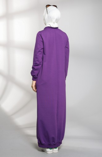 Pocket Sports Dress 21k8114-02 Purple 21K8114-02
