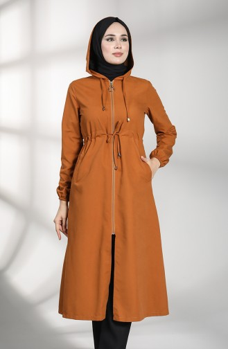 Tobacco Brown Trench Coats Models 5170-05