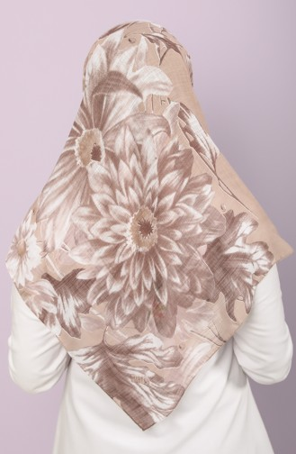 Brown Scarf 2511-7528A-09