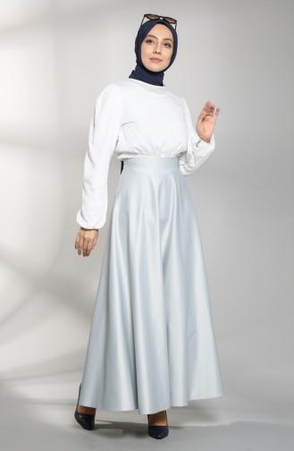 Ice Blue Skirt 4297ETK-04